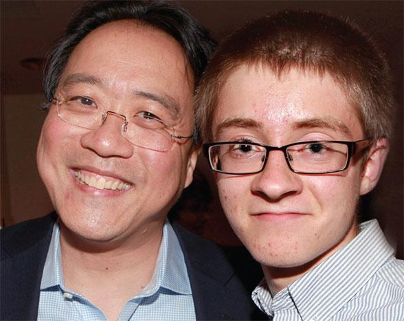 YoYo Ma and student